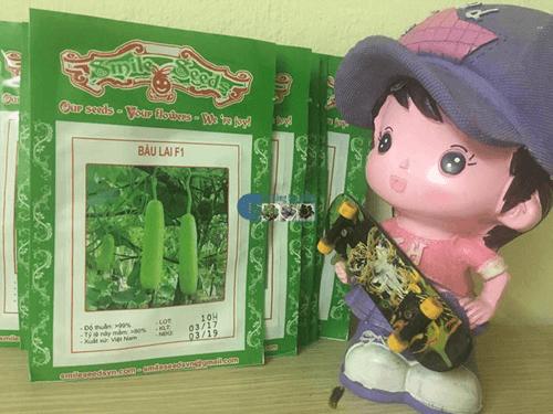 Gói hạt giống bầu Lai F1 - Cửa hàng hạt giống mỹ Đình