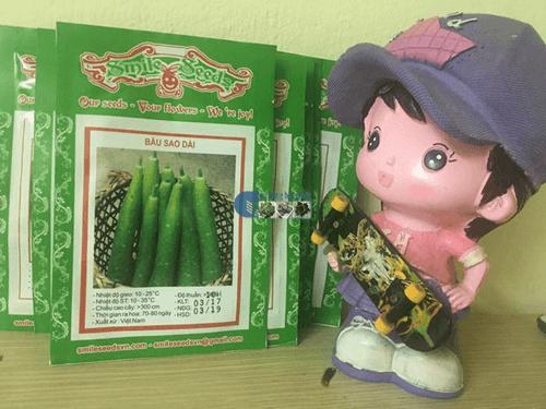 Gói hạt giống bầu Sao F1 - Cửa hàng hạt giống mỹ Đình