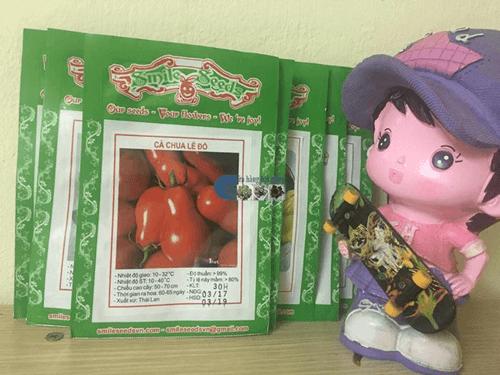 Gói hạt giống cà chua bi quả lê đỏ - Cửa hàng hạt giống Mỹ Đình