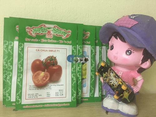 Gói hạt giống cà chua chịu nhiệt smile - Cửa hàng hạt giống Mỹ Đình