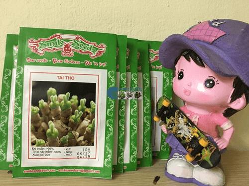 Bao bì gói hạt giống hoa tai thỏ mix - Cửa hàng hạt giống Mỹ Đình