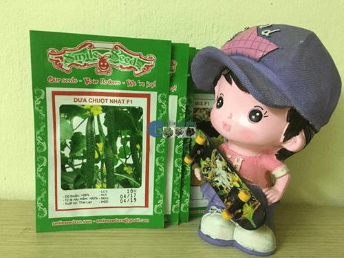 Gói hạt giống dưa chuột Nhật - Cửa hàng hạt giống Mỹ Đình