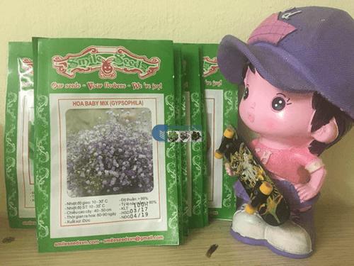 Túi hạt giống hoa baby mix - Cửa hàng hạt giống Mỹ Đình