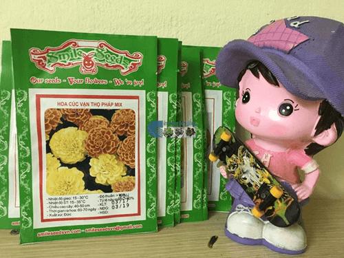 Gói hạt giống hoa cúc vạn thọ pháp - Cửa hàng hạt giống Mỹ Đình
