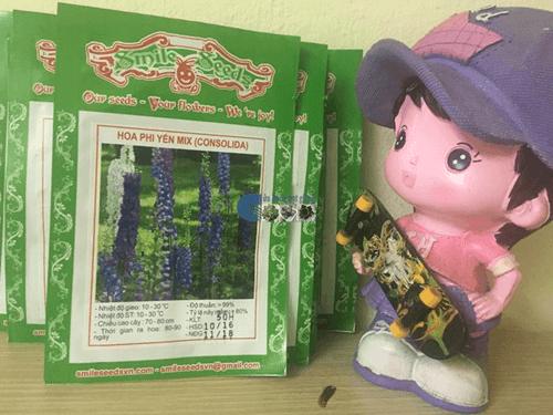 Bao bì gói hạt giống hoa phi yến mix - Cửa hàng hạt giống Mỹ Đình