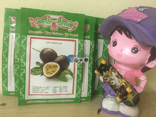 Bao bì gói hạt giống chanh leo - Cửa hàng hạt giống Mỹ Đình